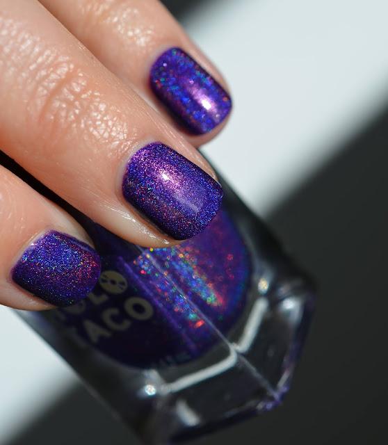 Holo Taco Purple Slushie swatch