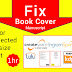 How to fix rejected book cover on amazon kdp