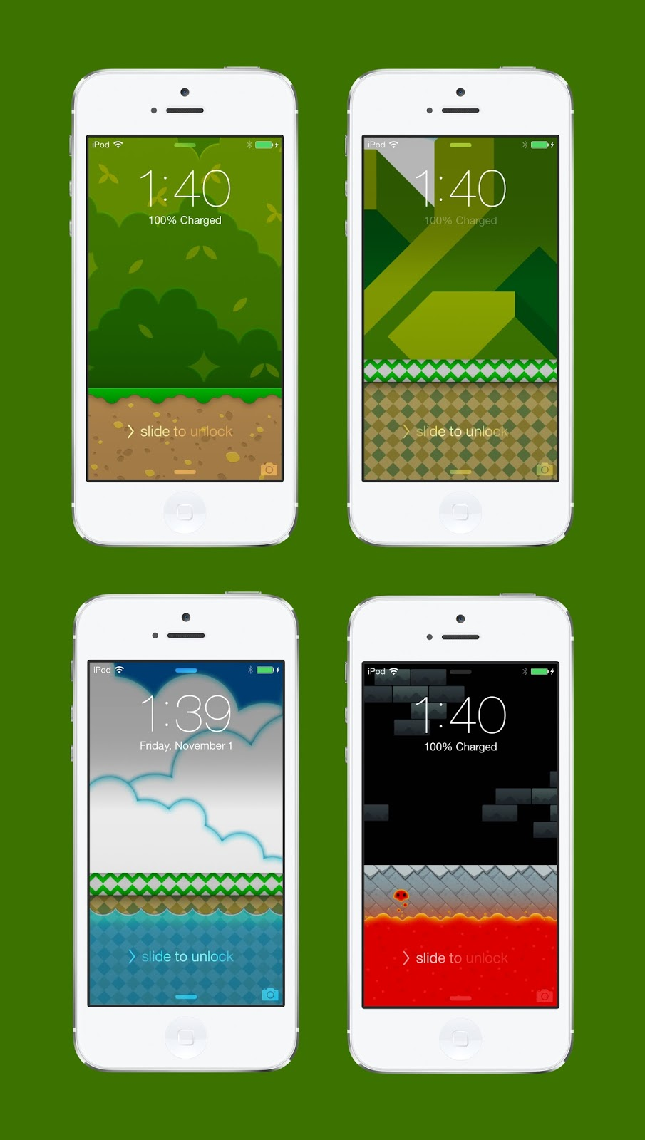 Todayshype Wallpaper Super Mario World Stages For Iphone By