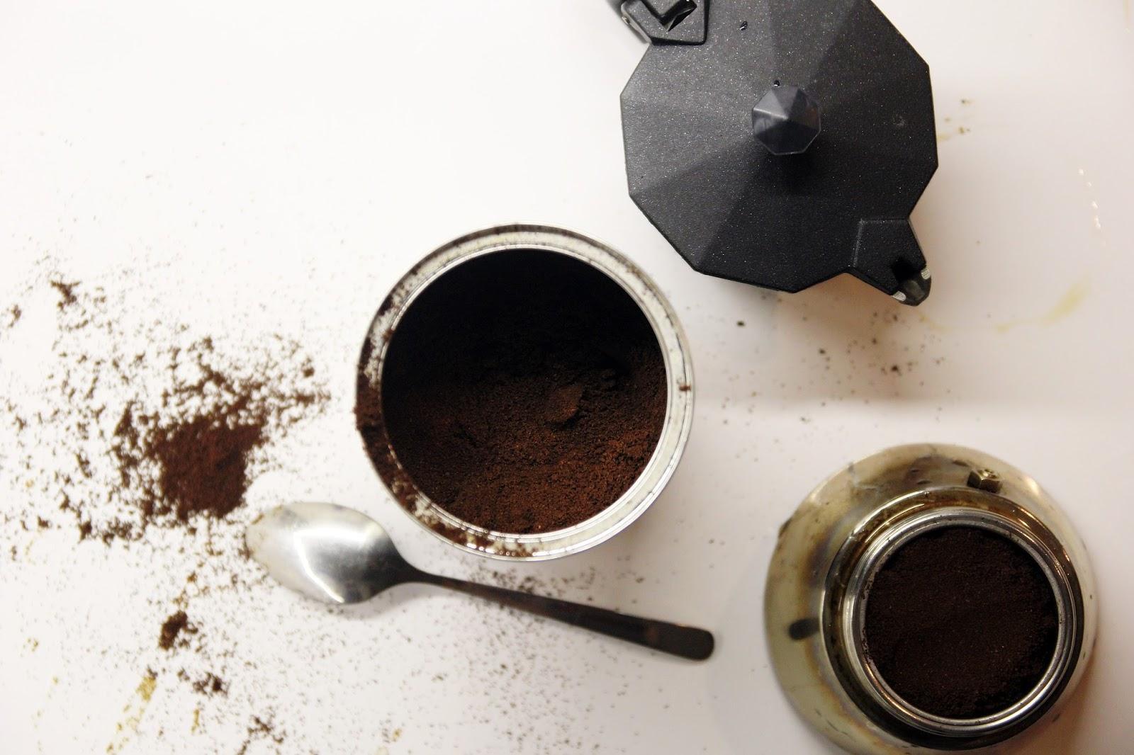 hur mycket kaffepulver ska man ha