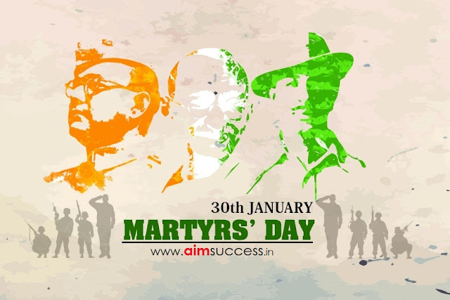Martyrs Day - 30 January  IMAGES, GIF, ANIMATED GIF, WALLPAPER, STICKER FOR WHATSAPP & FACEBOOK