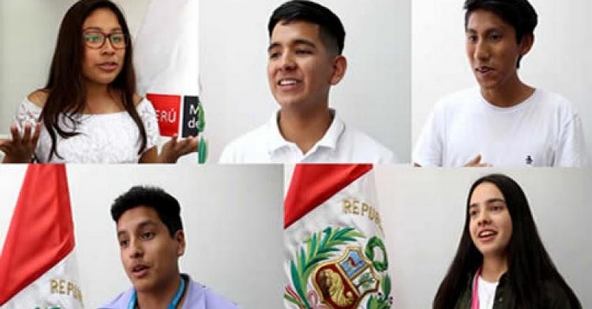 MINEDU: Seis escolares peruanos son los elegidos para hablar con el papa Francisco - www.minedu.gob.pe