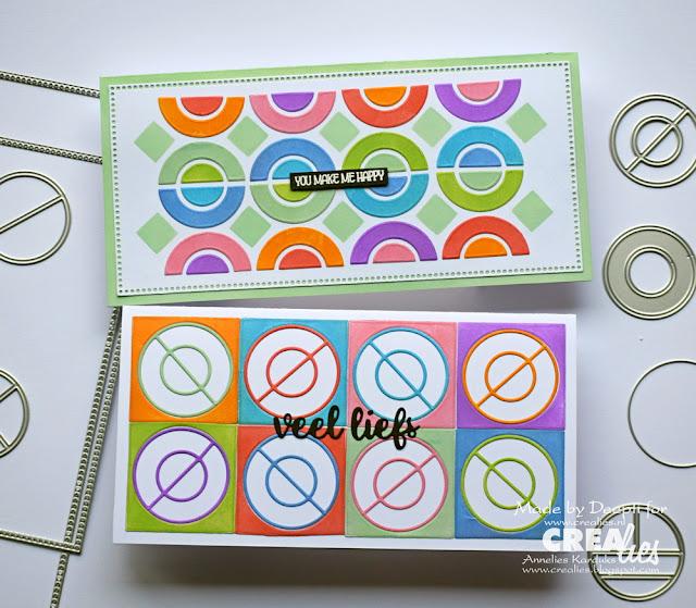Geometric Builder Circle Handmade cards