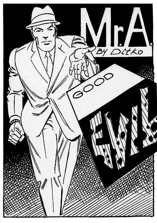 The HERO ACCORDING To  DITKO!