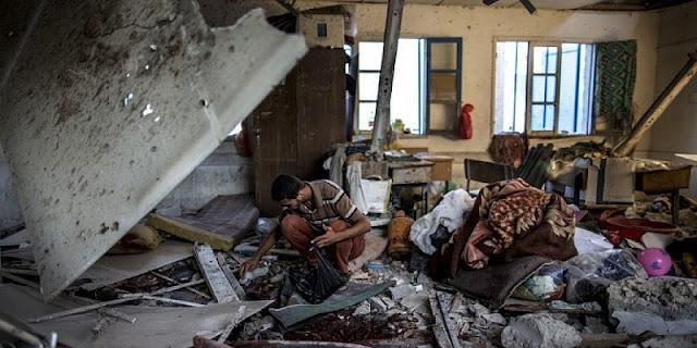 Save the Children: 50 Sekolah Di Gaza Hancur Akibat Serangan Israel