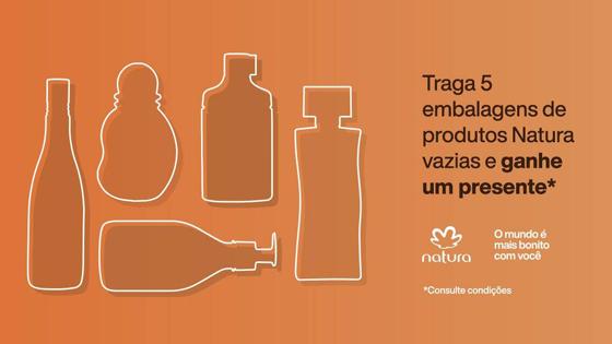 Natura e The Body Shop dão Brinde em Troca de Embalagens Usadas
