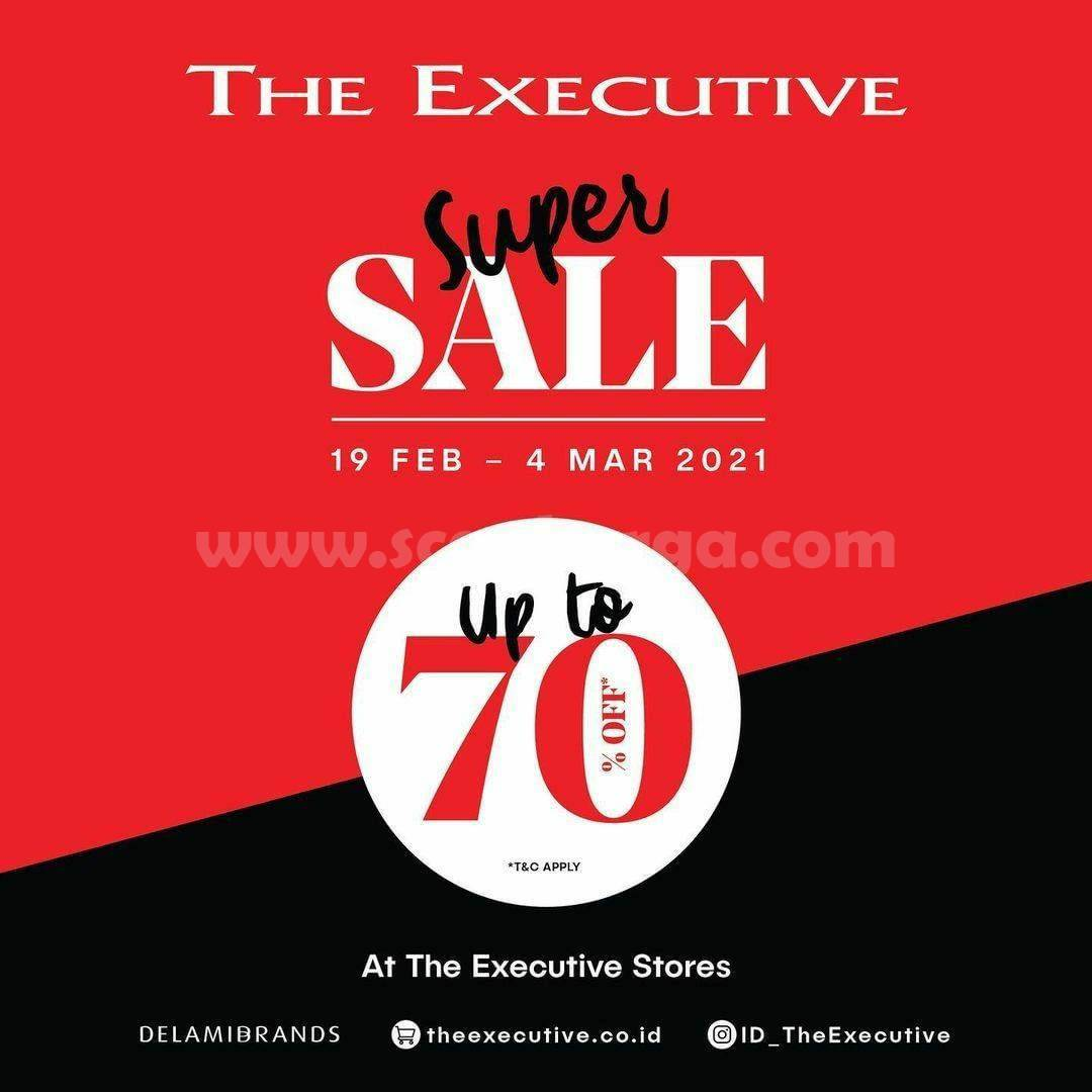 The Executive Promo Super Sale! Discount up to 70% Off