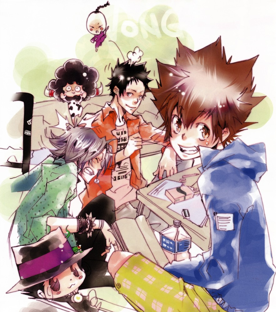 Ani-Mangas: Katekyo Hitman Reborn