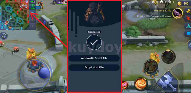 APK Host Inject Radar Map Patch Ling Mobile Legends