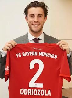 Alvaro Odriozola ke Bayern Munchen