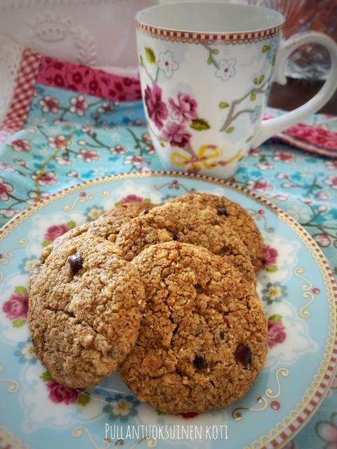 #cookies #healthycookies #keksit #terveellisemmätherkut #terveellinenherkku #healthytreats #healthylifestyle #terveellinenelämä #tahini #kookossokeri #pullantuoksuinenkotiblogi
