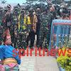 Tim Wasev Mabes TNI pada TMMD ke 108 Kodim 1425/Jeneponto, Disambut Tradisi Adat Bugis Makassar