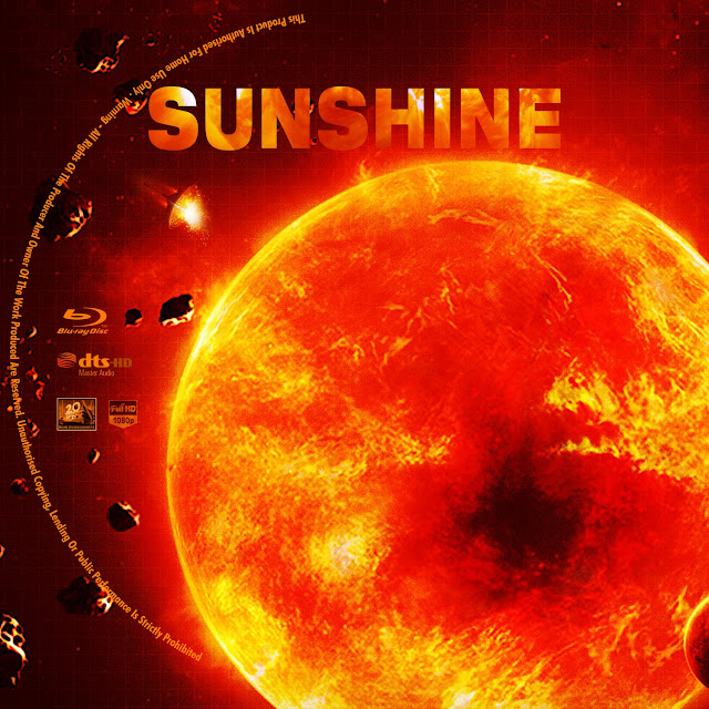 Sunshine Bluray Label