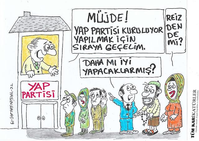 yap partisi karikatürü