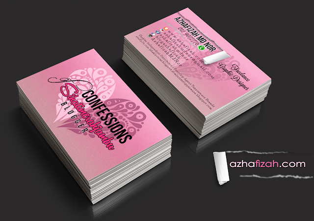 Artwork : Bussiness Card Sihatimerahjambu