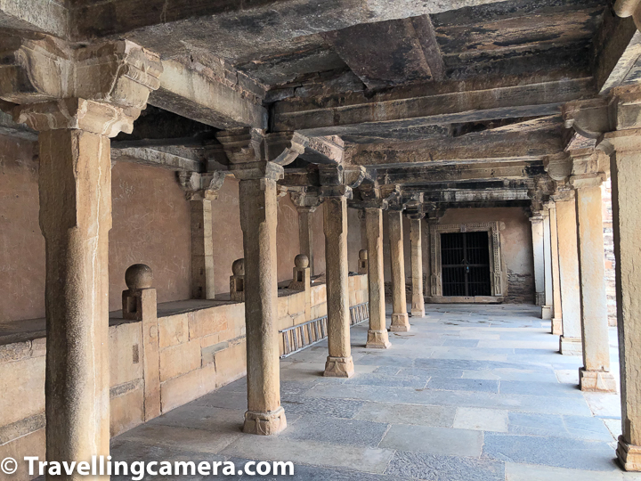 As you enter into the Rana Kumbha Palace of Chittor Fort, you see above structure on your left. This is horse stable to keep horses which were used for royal family members.   Related Blogpost - Kumbhalgarh Fort of Royal Rajasthan - A grand example of Indian defence Architecture within the second Longest Wall in the world