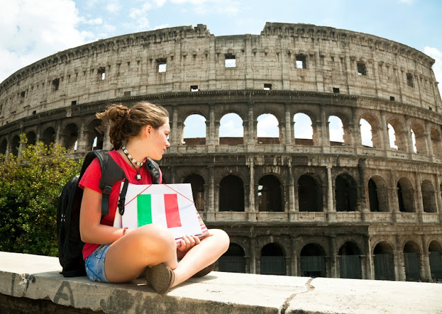 Travel to Rome with kids