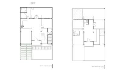 Gambar Rencana Air Bersih Lantai 1 dan 2