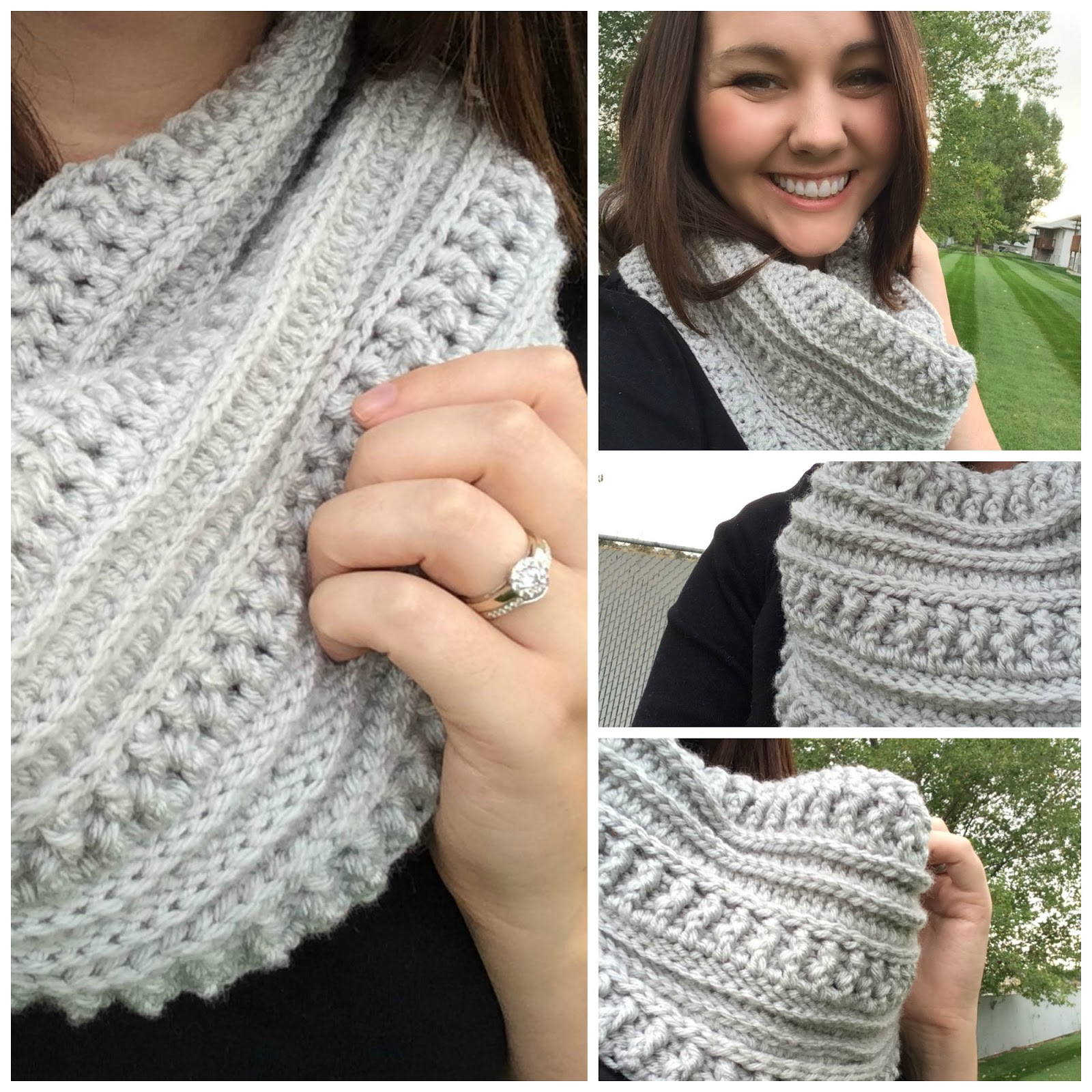 The Ribs And Ridges Scarf Free Crochet Pattern Thefriendlyredfox