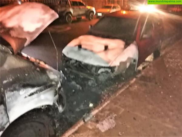 Un vehículo se incendió en El Paso