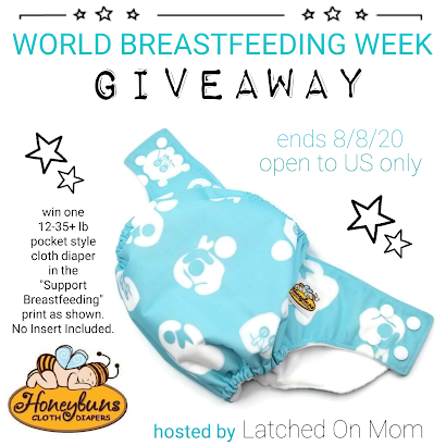 Support Breastfeeding Cloth Diaper