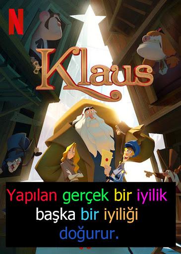 Klaus: Sihirli Plan - Klaus - Kötülük İçinde Yaşayan Bir Kasabaya Umut ve Sevgi Getiren Bir Postacı