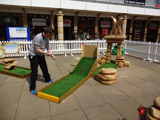 Crazy Golf at Lakeside Village Shopping Centre in Doncaster
