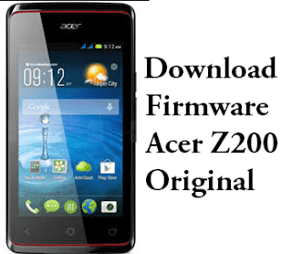 Download Firmware Acer Liquid Z200 Original