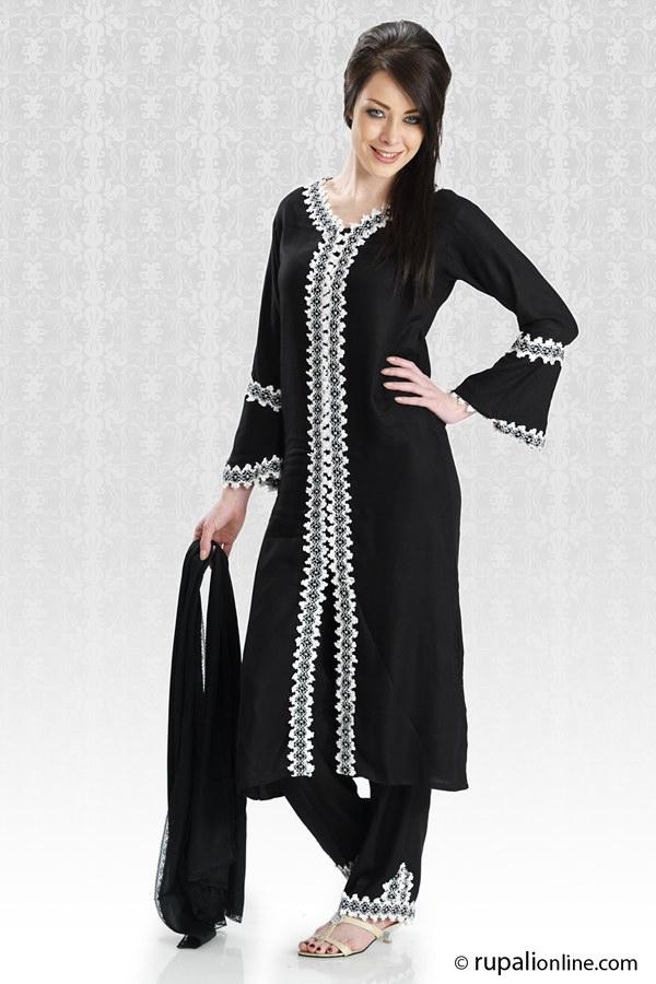 954979040f Trouser Salwar Fashion | Upcoming Trend in Salwar Kameez - She9 ...
