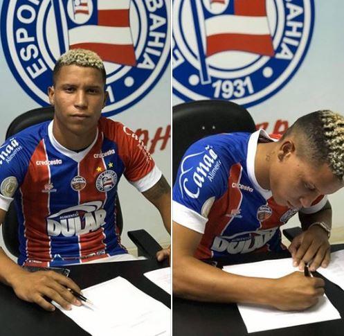 Por meio de nota, Valadares Esporte Clube anuncia saída de jogador destaque na Terceirona. Fechou com o Bahia.