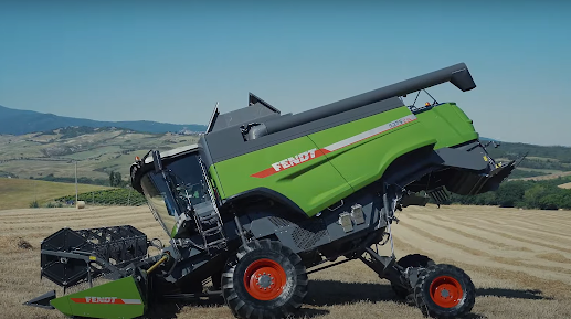 A natural flow or transverse combine harvester is a feature of a conventional combine while the axial flow is a feature of the new generation rotary combine. A hybrid combine harvester is a mixture of the conventional and rotary.