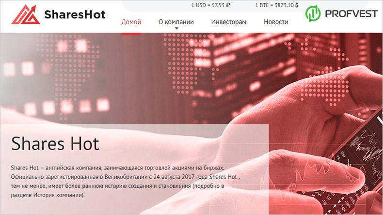Shareshot обзор и отзывы HYIP-проекта