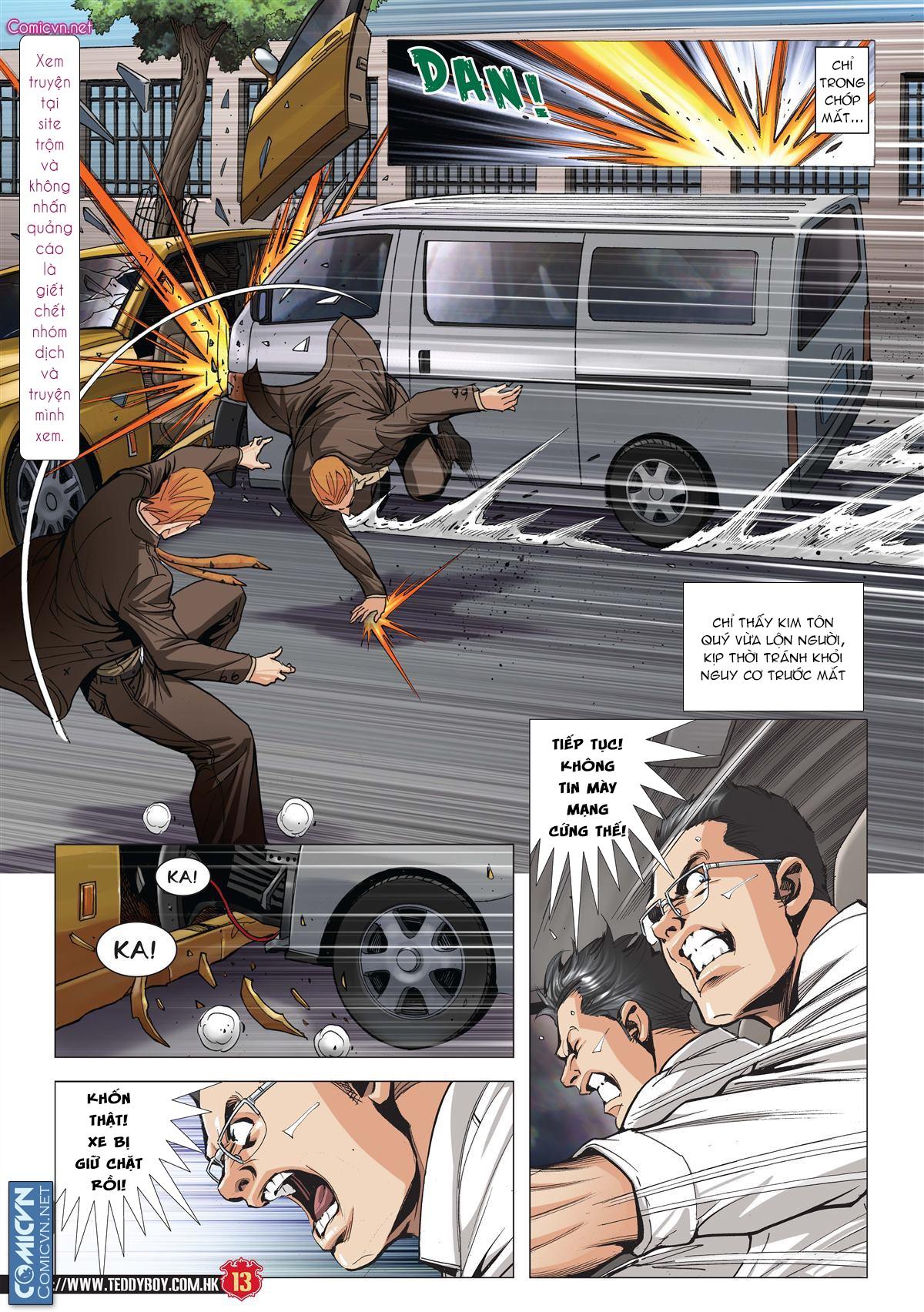 Người Trong Giang Hồ chapter 1997: triệu oánh vs đinh dao trang 11