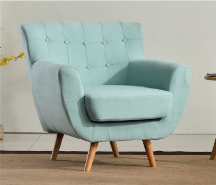 Blue Sky design for mini single sofa chair ideas