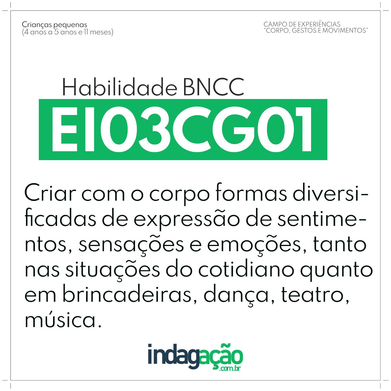 Habilidade EI03CG01 BNCC