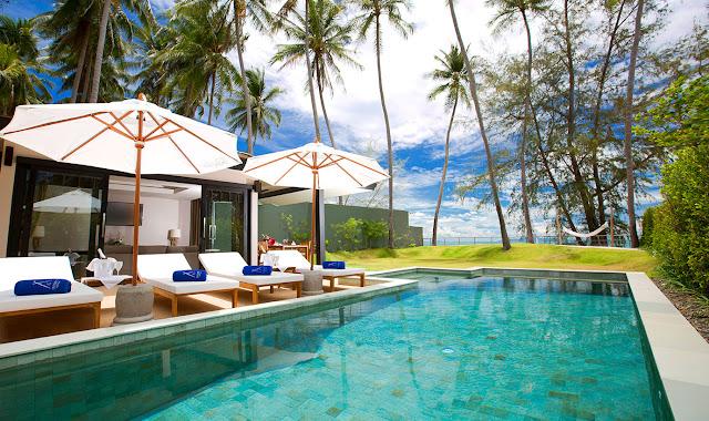 Piscine hôtel Nikki Beach Resort Koh Samui Thailande