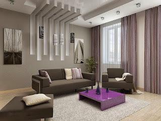Oturma odası asma tavan modelleri