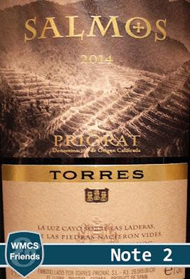 Miguel Torres Salmos Priorat 2014