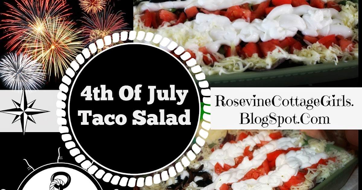Rosevine Cottage Girls Organic Taco Salad
