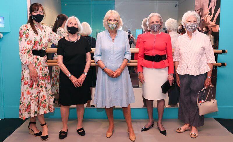 The Duchess, Darcey Bussell, Lady Anya Sainsbury and Monica Mason