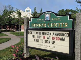 Dick Flavin, Red Sox Poet Laureate Visits - July 19