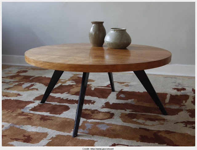 Inspiring round modern coffee tables Pic