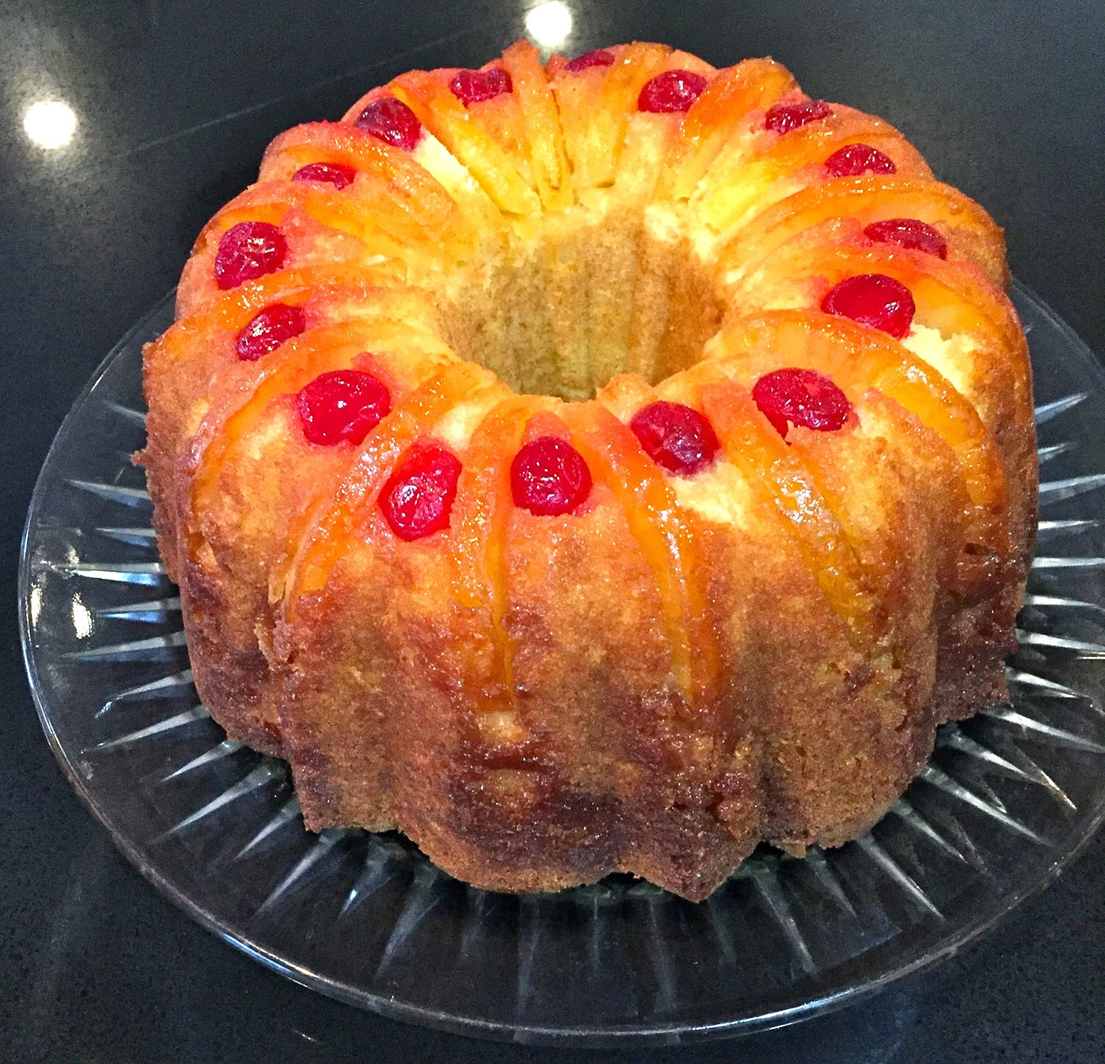 Pineapple Pound Cake From Scratch