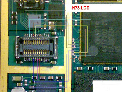 nokia n73 lcd ways and problem