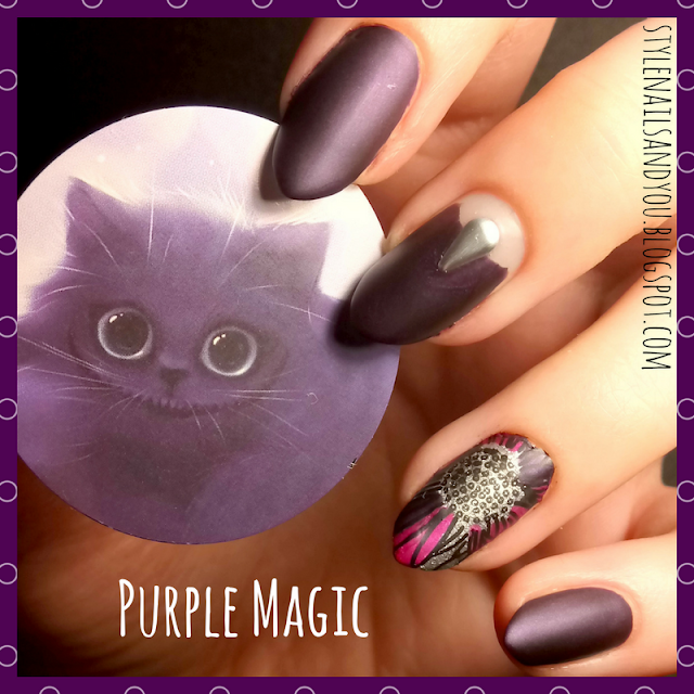 Purple Magic | Nail Studs Wheel | BeautyBigBang Review