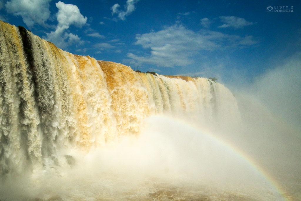 Wodospady Iguaçu w Brazylii