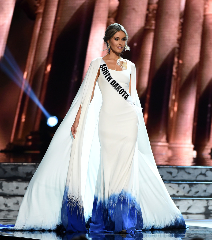 SASHES AND TIARAS.....Miss USA 2016 Preliminaries Evening Gowns ...
