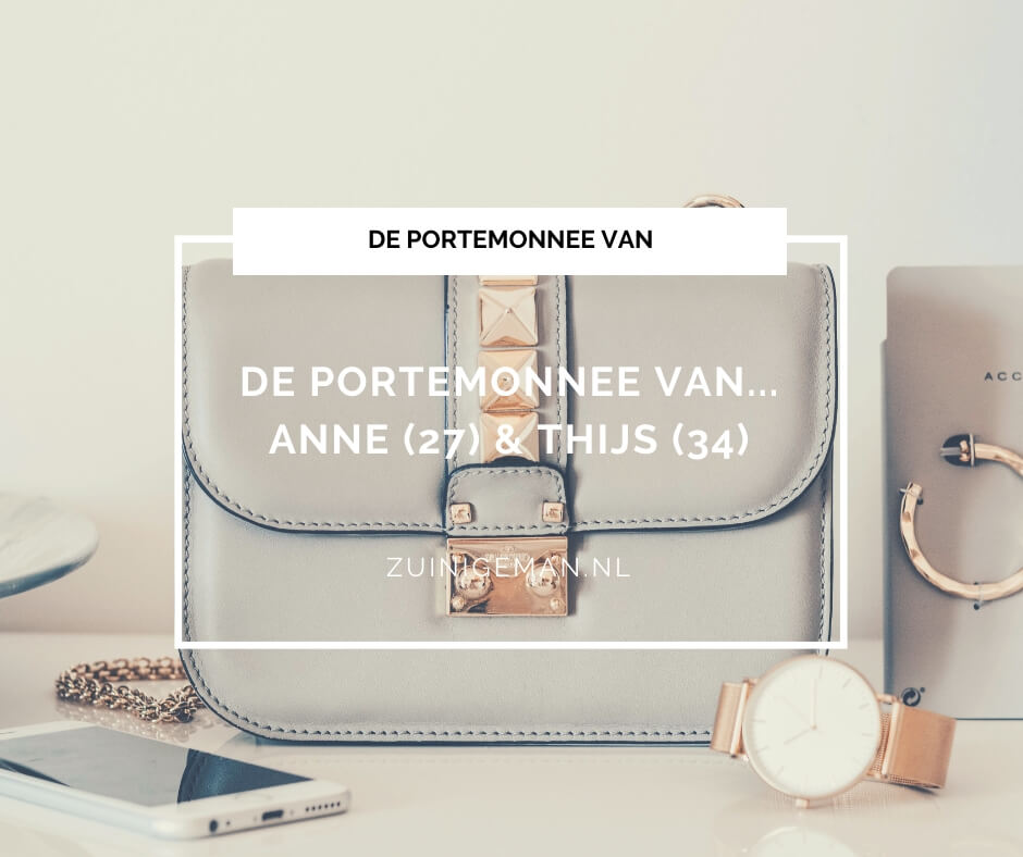 Kasboek van Anne (27) & Thijs (34)