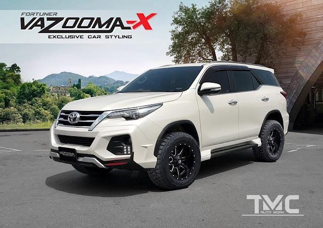 Body kit modifikasi untuk Toyota Fortuner