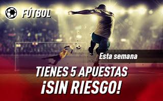 sportium Promoción para Apuestas de fútbol hasta 29 marzo 2020